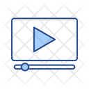 Video Advertising Video Advertising Icon