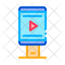 Video Advertising Phone Icon