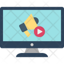 Video Advertising Video Marketing Advertising Icon