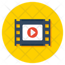 Video Animation Icon