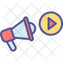 Video Announcement Icon