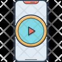 Video App Smartphone Media Icon