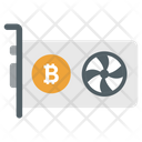 Video Bitcoin Card Icon