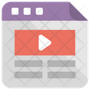 Video Template Layout Icon