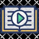 Video Book E Book Online Journal Icon