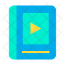 Book Video Book Video Learning Icon