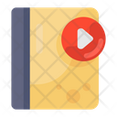 Video Book Video Guide Curriculum Icon