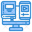 Online Learning Book Icon