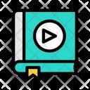 Video Book Audio Book Video Icon
