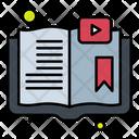 Video Book Video Learning E Book Icon