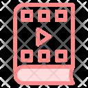Book Video Run Icon