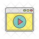 Video Browser Web Icon