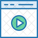 Video Browser Video Media Icon