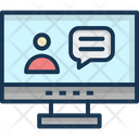 Live Call Video Call Communication Icon