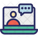 Video Call Chatting Video Chat Icon
