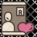 Video Call Valentine Icon