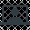 Video Call Screen Icon