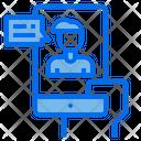 Hand Smartphone Man Icon