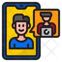 Work From Home Work Call Icon