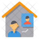 Video Call Personal Assistance Support Icon