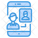 Chat Communication Smartphone Icon