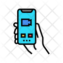 Phone Video Calling Icon