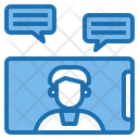 Vdo Call Digital Learning Icon