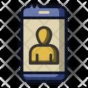 Video Call Phone Smartphone Icon