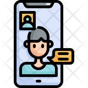 Video Call Online Icon