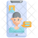 Video Call Mobile Icon