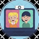 Friendship Friends Video Call Icon