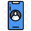 Video Call Friends User Icon