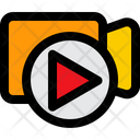 Video Call Network Technology Icon