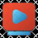 User Interface Video Film Icon