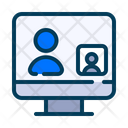 Video Call Call Laptop Icon