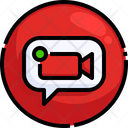 Video Call Video Call Notification Video Chat Icon