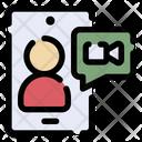 Video Call Smartphone Video Camera Icon