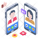 Online Call Video Call Video Talk Icon