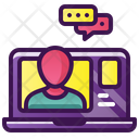 Video Computer Network Icon
