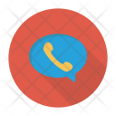 Video Call Bubble Chat Icon