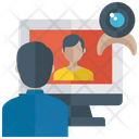 Video Calling Video Consultation Video Conference Icon