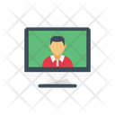 Video Calling Conference Icon