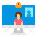 Video Call Webcam Icon
