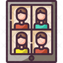 Video Calling Icon