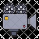 Camera Recording Digital Icon