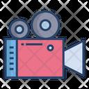 Video Camera Videography Cinemetrography Icon