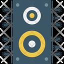 Video Camera Recorder Flim Speaker Icon