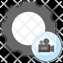 Video Camera Settings Icon