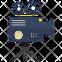 Video Camera With Tripod Camera Video Icon