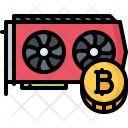 Video Card Mining Icon